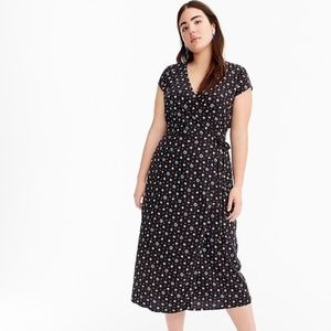 J. CREW MERCANTILE Easy Wrap Dress in Daisies